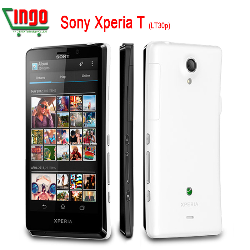 LT30P Original Sony Xperia T LT30p Mobile Phone 4.6''1280x720 Dual-core 1.5GHz 16GB 13MP 3G GPS WiFi Android 4.0 Refurbished(China (Mainland))