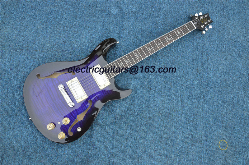 FREE SHIPPING!! New Guitar! purple burst PRS model Paul Reed smith IN STOCK,China guitars,musical instrument,OEM guitars!(China (Mainland))