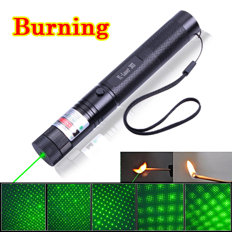 high power burning laser pointer 303 5000mw 532nm powerful laser pen astronomy green laser level. Black Bedroom Furniture Sets. Home Design Ideas