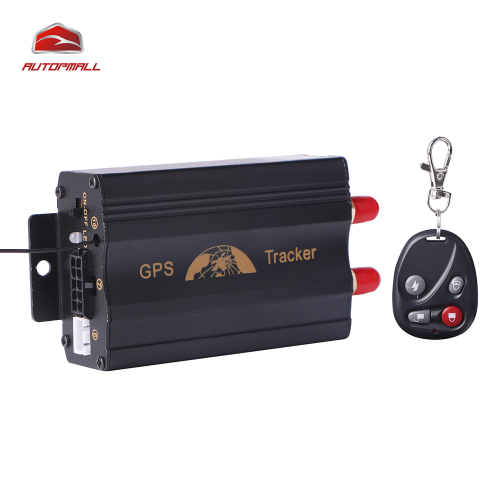 GPS Tracker TK103B Remote Control GPS103B Geo-fence Over Speed Alarm Accident Alarm Cut Oil Power Can Voice Monitoring(China (Mainland))