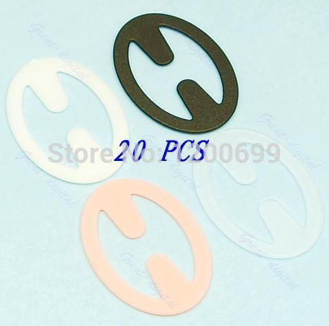 20 Clips Perfect Adjust Bra Strap Clip Cleavage Control 4 Colors(China (Mainland))