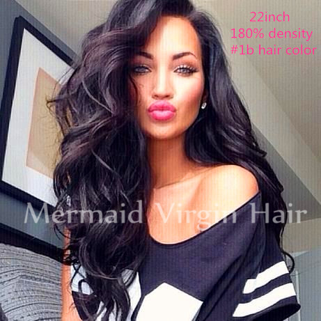 211016 New Brazilian full lace human hair wigs Full Lace Front Wig Natural straight wigs for black women hair Instock<br><br>Aliexpress