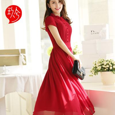 Летний стиль халат Длинныйué роковой шифоновое платье boho халат сексуальный ...