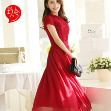 Summer style Robe longue femme chiffon dress boho robe sexy Sandy beach long Vestidos Femininos 2016 festa Lace vestido longo(China (Mainland))