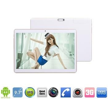 10 дюймов 3 г планшет пк MTK6582 3 г четырехъядерных процессоров телефон телефонный звонок GPS андроид 4.4 2 ГБ 8 г / 16 г Bluetooth двойная камера 5.0MP