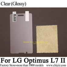 Clear Glossy Screen Protector Guard Cover protective Film For LG Optimus L7 II P710 P713 P714 / LG Optimus L7II / Optimus L7X