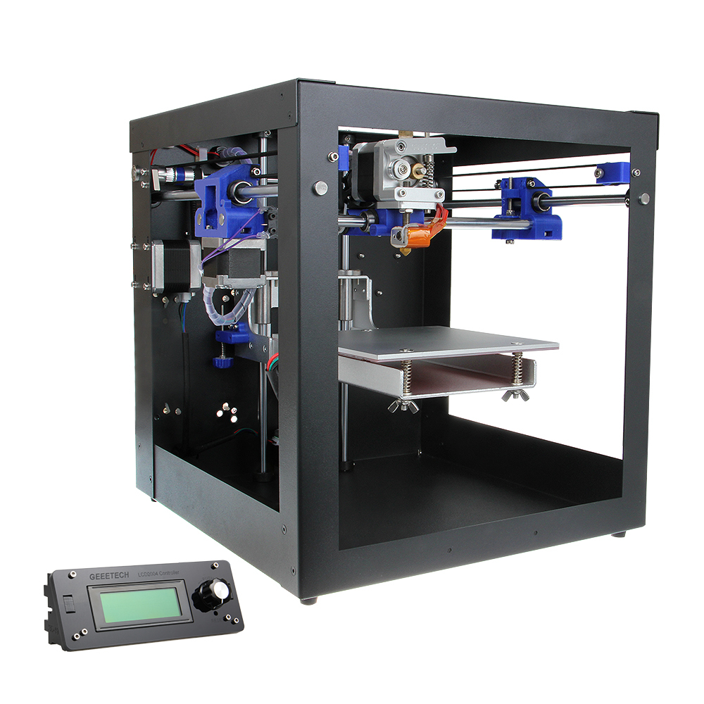 Geeetech Newest Assembled Me Creator Mini Desktop Impressora 3D Printer With Sanguinololu Board MK8 Extruder