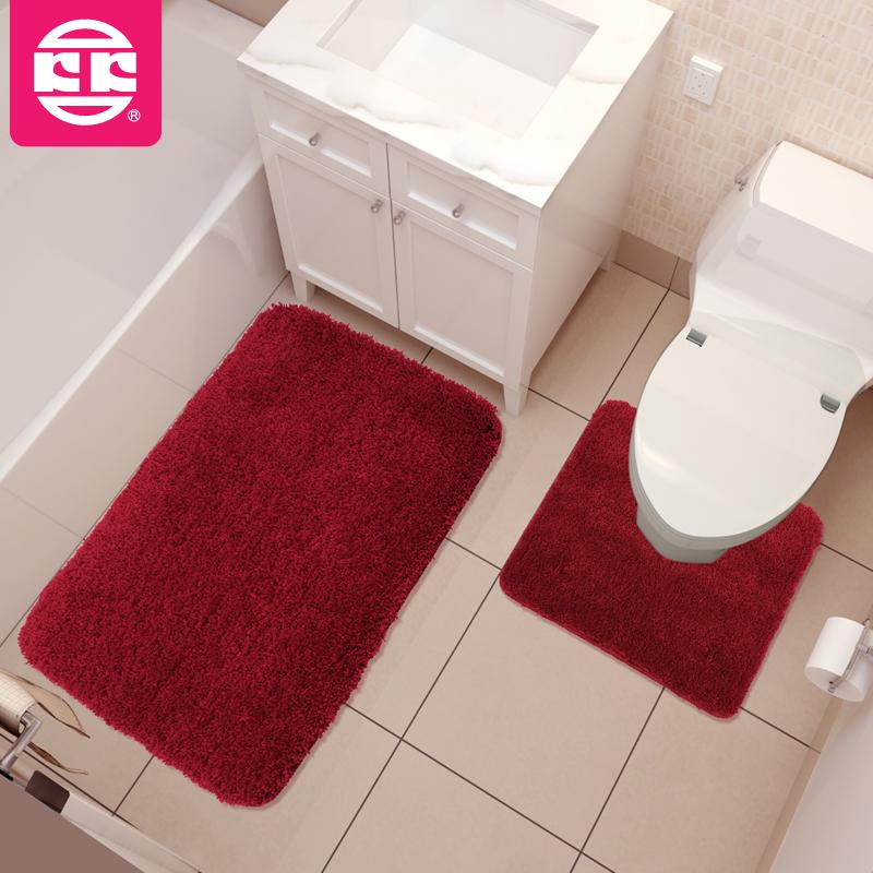 Koko new arrival ultrafine fiber mats bath mats mat twinset bath mat pads(China (Mainland))