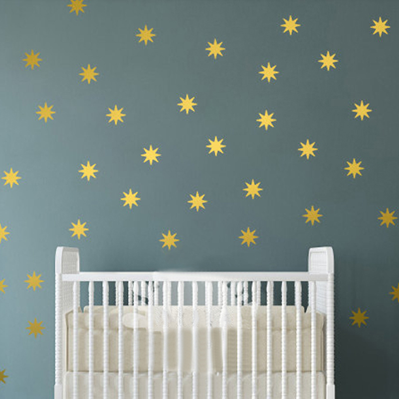 star wall decal sparkle star decals seeing star vinyl removable wall