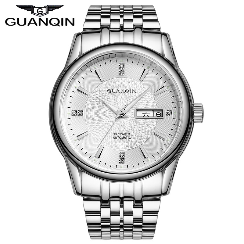 Original Brand GUANQIN Sapphire 10 ATM Waterproof Calendar Analog Mechanical Watch Men Automatic Wristwatch Clock GQ10030<br><br>Aliexpress