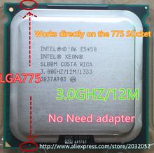 Intel Xeon E5450 Procesador (3.0 GHz/12 M/1333) cerca de LGA775 Core 2 Quad Q9650 cpuworks en (LGA 775 placa madre no necesita adaptador)(China (Mainland))