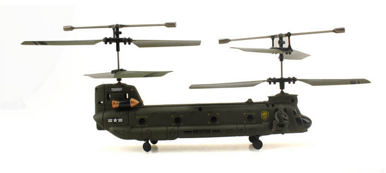 UDI U815 3.5 channel radio control rc alloy helicopter ready to fly RTF Big CH-47 Chinook Infrared remote control VS Syma S022(China (Mainland))