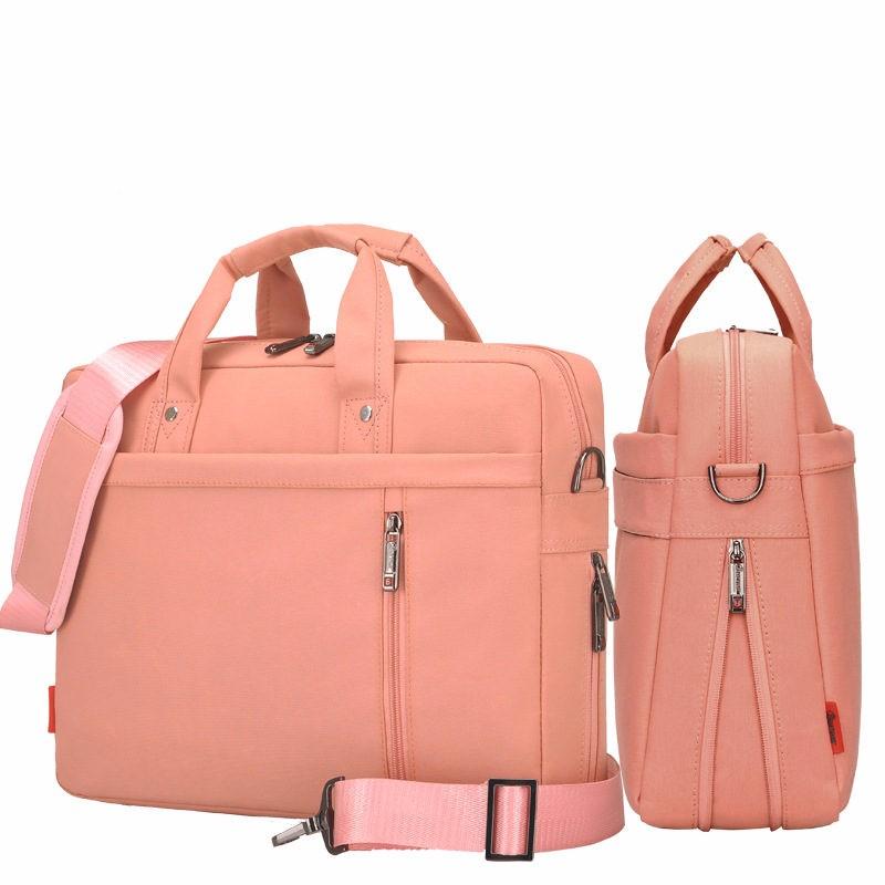 laptop bag 17 3 17 15 14 13 inch shockproof airbag waterproof computer bag men and women luxury. Black Bedroom Furniture Sets. Home Design Ideas