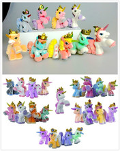 NEW COME 3CM Simba Filly Plush Little Horse Kid Animal Dolls Mini Unicorn DIY Pendant Movie Figure Toys Christmas Gift Wholesale(China (Mainland))