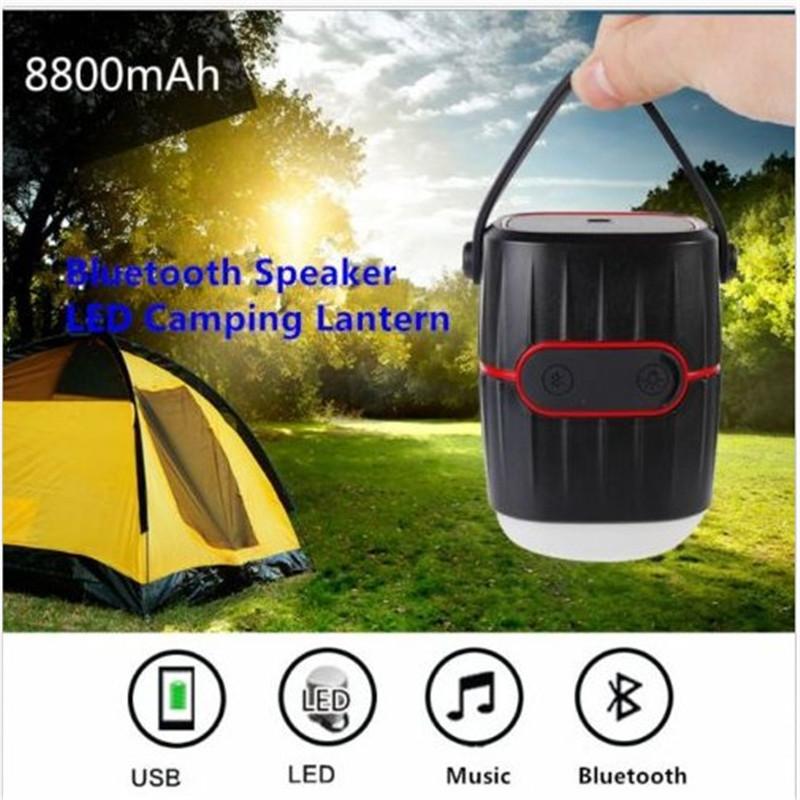 Rechargeable Battery Lantern Led Light LED Camping Lantern Bluetooth Speaker(China (Mainland))