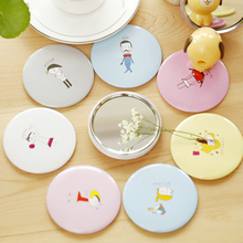 Korean version of sweet gifts cute little mirror / portable mirror mirror can be customized printed logo(China (Mainland))
