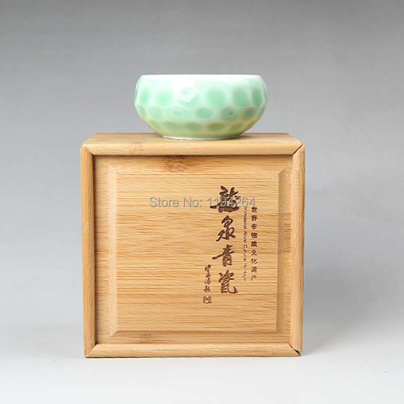 Chinese tea ceremony Bamboo Gift Box for tea cup tea set Tea accessories