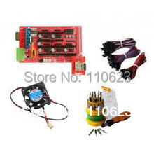 RAMPS 1.4 electronics+SD RAMPS+crewdriver set+cooler fan