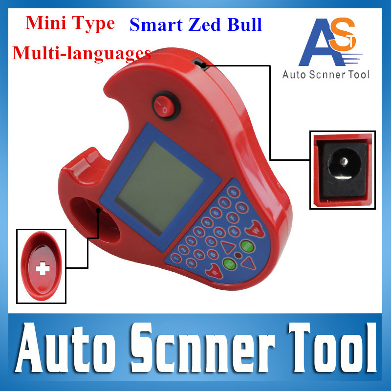 2016 High Quality Smart ZedBull Super Mini Zed Bull Auto Key Transponder Programmer Zed-Bull Cloning Key Chip Copy No Tokens(China (Mainland))