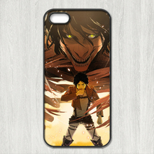Attack On Titan cartoon Cover case for iphone 4 4s 5 5s 5c 6 6s plus samsung galaxy S3 S4 mini S5 S6 Note 2 3 4 z1630