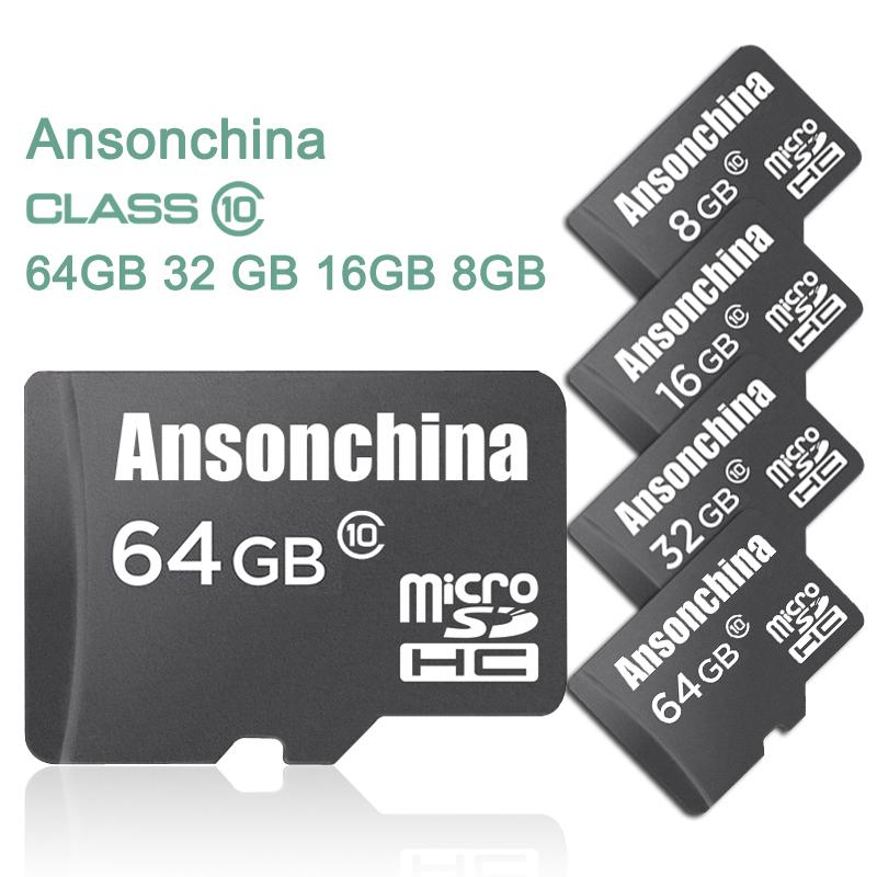 A++++ Quality Black Micro SD Card Memory Card 4GB/8GB/16GB 32GB 64GB TF TransFlash memory card with retail package free shipping(China (Mainland))