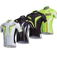 Buy 2016 Green Red Cycling clothing Bike jersey top Men Women sports bicycle road jersey short sleeve Bike wear quick dry for $11.47 in AliExpress store