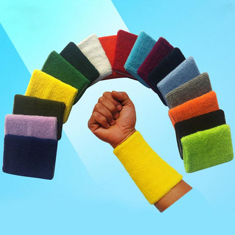Colorful Outdoor Sports Towel Wrist Spandex Volleyball Hand Knit Belt Wrist Protection Sports Accessories Sport-005290(China (Mainland))