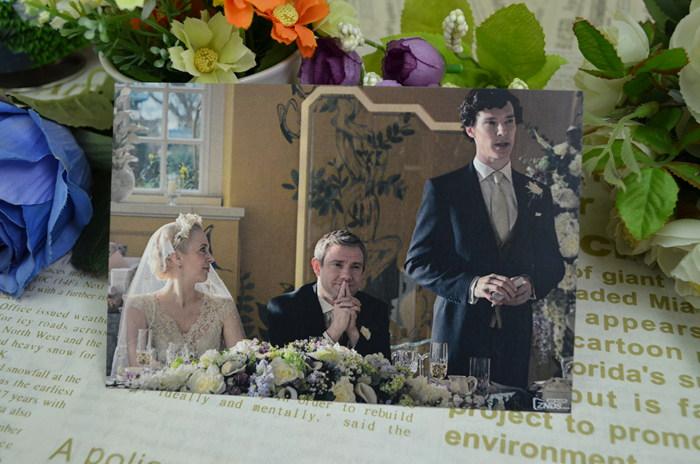 karrykon Шерлок Холмс фильм Открытки поздравительные открытки 10шт открытка Шерлок