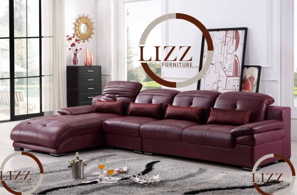 Nigeria Sectional Leather Sofa L T672 In Living Room Sofas From Furniture On