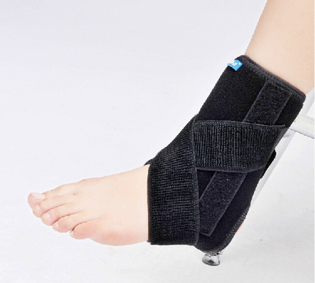 High Quality Medical Ankle Support Brace Bandage Stabilizer Guard Aluminum Splint Inside Ankle Sprain Ligaments Loose Pain(China (Mainland))
