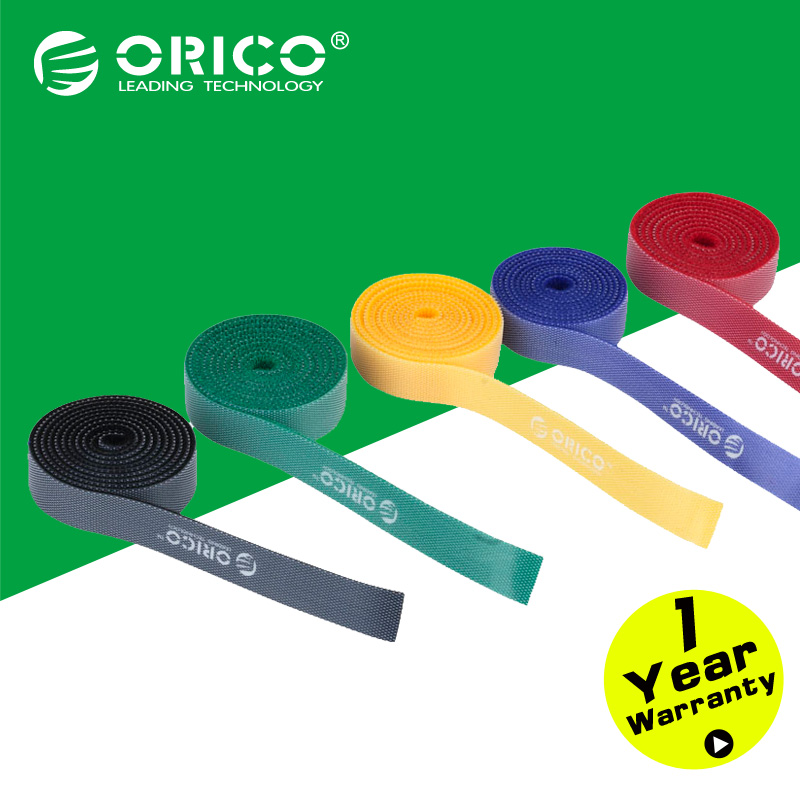 ORICO CBT-5S Plastic Nylon Cable Mark Colorful Ties Five Color -5PCS/Lot(China (Mainland))