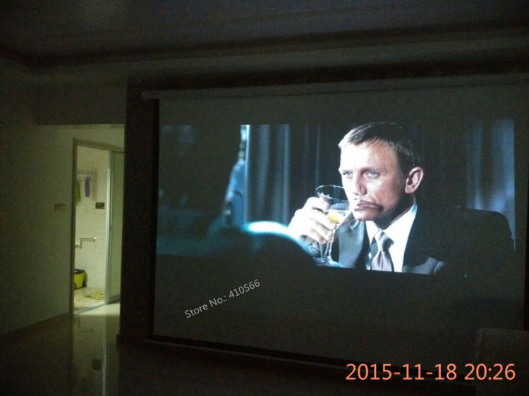 150 inch motorized screen pic 18