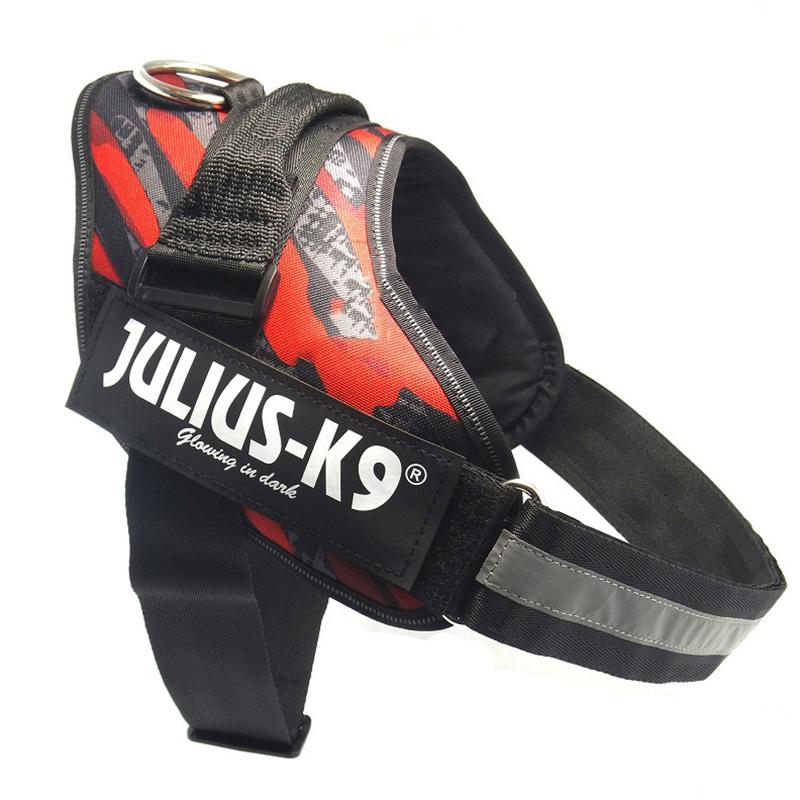 High Quality Nylon Dog Harness Vest 17 Colors Brand JULIUS K9 Dog Collars Pet Cloth Professional Chest Vest(China (Mainland))