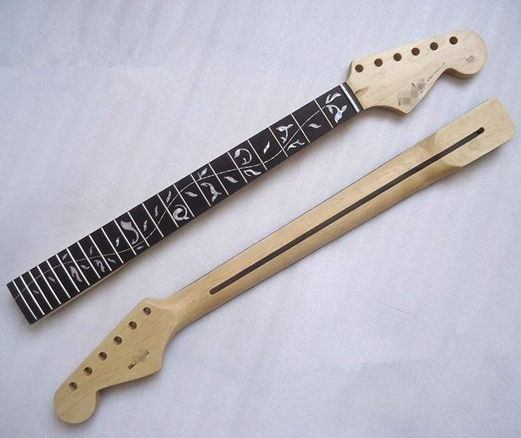 Top quality 22 Fret The Tree of Life Canadian maple Electric Guitar Neck Guitar Parts Wholesale musical instruments accessories(China (Mainland))