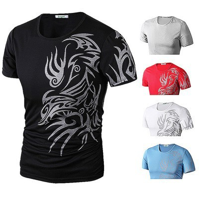 Free-shipping-New-2015-Fashion-Brand-9style-T-Shirts-Men-Novelty-Dragon-Printing-Tattoo-Male-O