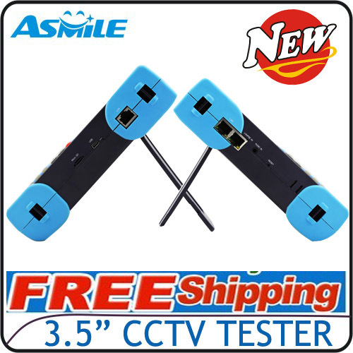 """NEW 3.5"""" CCTV Tester Test Box with 11hours working time VT2601T from Asmile(China (Mainland))"""