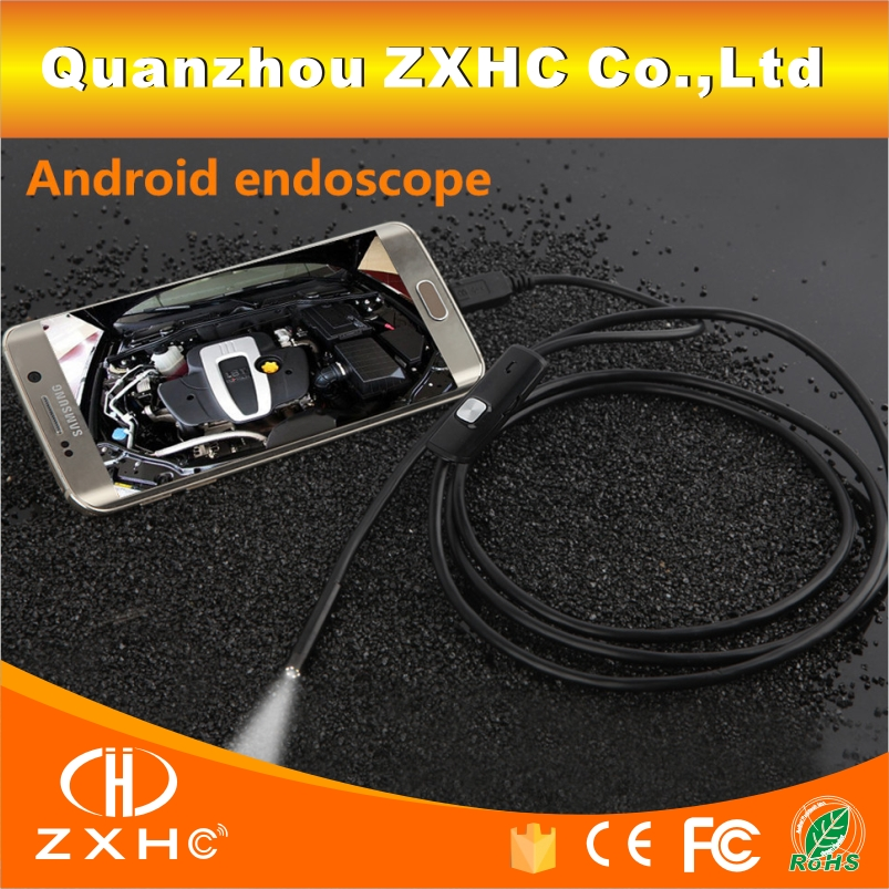 HD Waterproof Mini Micro Android Video USB Endoscope Borescope Inspection Industrial Camera 6 LED US 7MM Lens 3.5M Cable()
