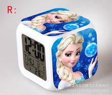 Girl Toys Brinquedos Meninas Queen Of Snow Olaf Anna Elsa Princess Dolls LED Cartoon Minions Electronic Toys A42(China (Mainland))