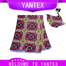 YANTEX-Hollande Cire Cauchemar Avant Noël Super-Africain Tissu Imprime Avec Orange Et Pourpre Fruits Motif 6 Cour/Lot(China (Mainland))
