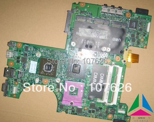 MU715 F125F F406K N028D X853D 0MU715 laptop motherboard FOR DELL XPS M1530 laptop 256MB motherboard(China (Mainland))