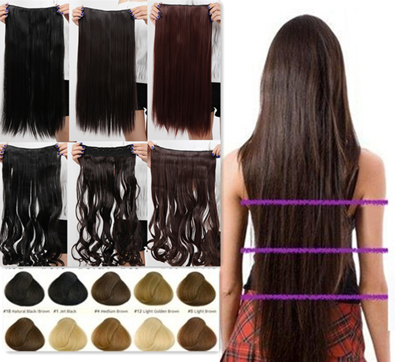 Professional Clip In Hair Extensions Triple Weft Hair Extensions