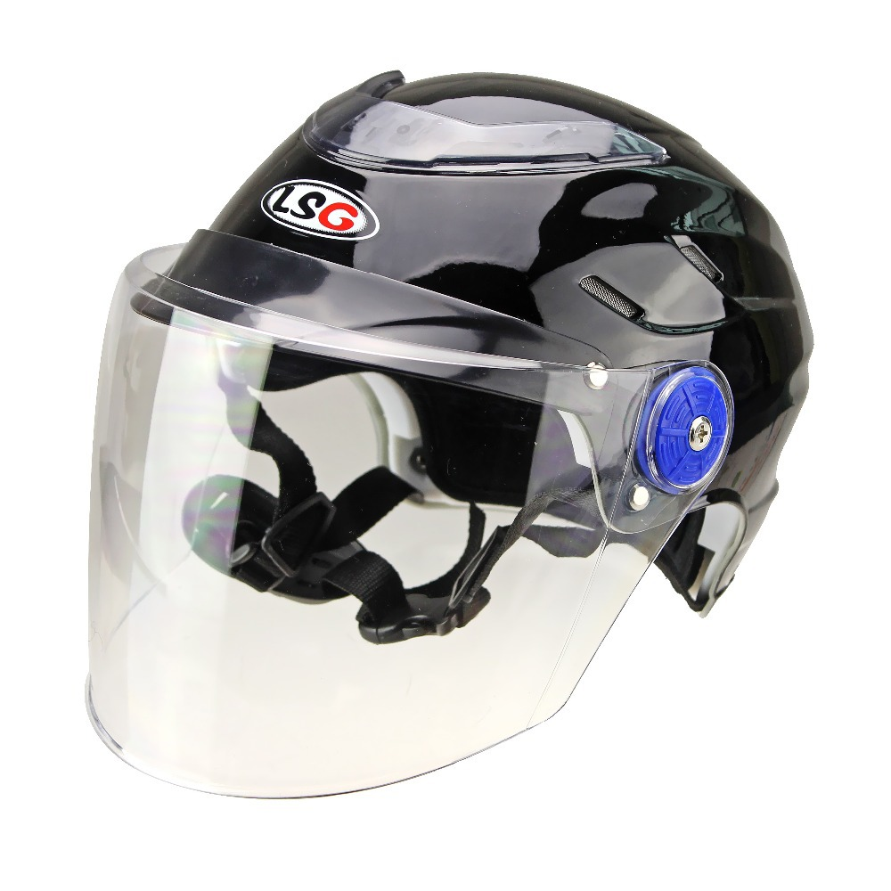 Motor Helmet Uv Protection Half Helmet With Removable And
