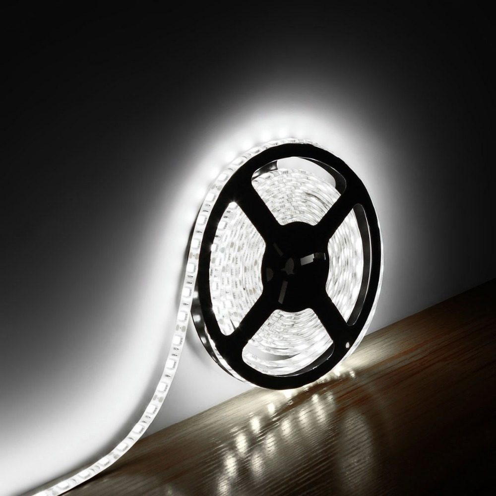 16.4Ft 5050 SMD 300 LEDs Waterproof Flexible Led Strip Light+12V Power Supply Adapter - YIXIBANSTORE store