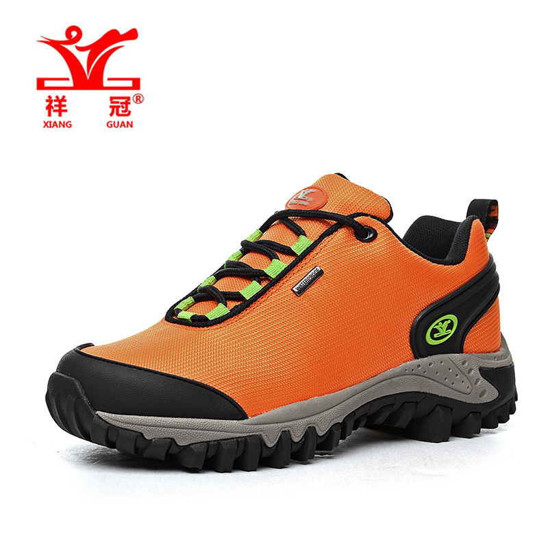 Size 36-39 Waterproof women shoes Outdoor sneakers Oxford sports Hiking shoes,2016 climbing Orange famous Original brand trainer<br><br>Aliexpress