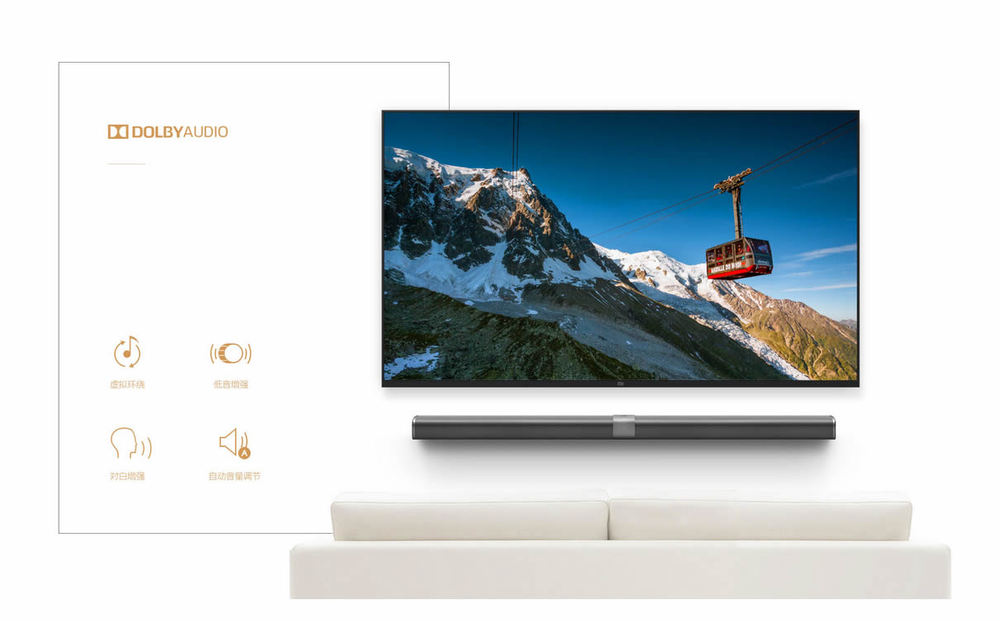 Original New Xiaomi TV 3 60″ Inches Smart TV English Interface LG Screen Real 4K 3840*2160 Ultra HD Quad Core Household TV