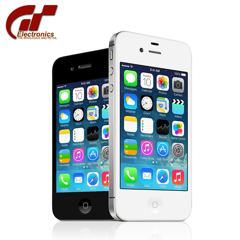 Мобильный телефон apple, iPhone 4S 16 GB 3.5 IPS IOS 8 8MP NFC WIFI GPS мобильный телефон 5c 100% iphone 5c ios 8 4 0 ips 8mp 1080 p 16 32 64 wifi 3g apple