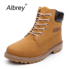 Suede Leather Women Men Boots Fashion 2015 Unisex Brand Platform Motorcycle Winter Ankle Boots Women Safety Martin Shoes(China (Mainland))