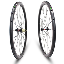 YUAN'AN 38*25mm New product clincher used carbon wheels bicycle campa front rear ruote carbonio 700c wheelset - Yuan An bike store