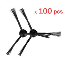 100 Piece (50 Left+50 Right) Side Brush for Ecovacs Mirror CR120 Dibea X500 Robotic Cleaner
