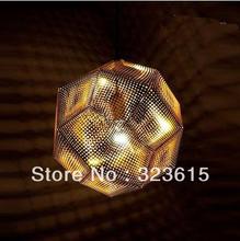 High brightness High Quality Modern Tom Etch 32cm Pendant Lamp Chandelier Light Hot GOLD(China (Mainland))